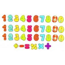 Магниты цифры из дерева  Учимся считать IG0045