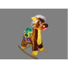 Качалка - Конь с попоной (большая)