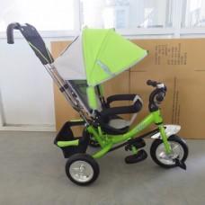 Велосипед 3-х колёсный Happy Bike 10/8 Eva зелёный