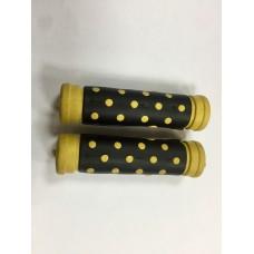 Ручка на руль (резина) цветная к-т