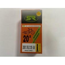 "Велокамера 20"" Orange бутил"