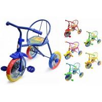 Велосипед 3-х колёсный 64958 (Ежик цвет.кол.)