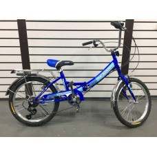 """Велосипед 20"""" Kespor FS 6 ск. складной"""