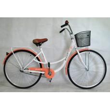 """Велосипед 28"""" Narcissus Retro персиковый"""