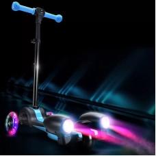 Самокат 3-х колёсный Пламя (пар,звук,свет)