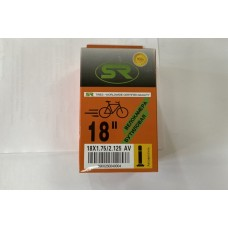 "Велокамера 18"" Orange бутил"