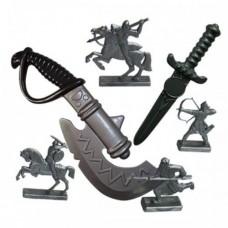 Набор Секира+кинжал+фигурки воинов 50026