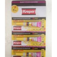 Клей секунда Kreper 12 грамм