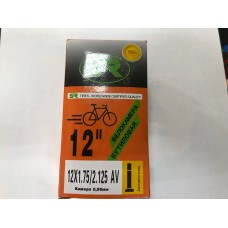 "Велокамера 12"" Orange бутил"