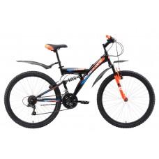 """Велосипед 26"""" Black One Phantom 21 ск. 2 ам."""