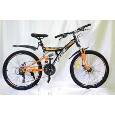 "Велосипед 24"" Maks Soft V 2 ам. 21 ск."