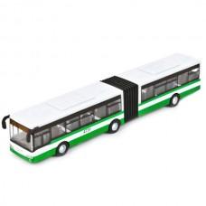 """Автобус """"Технопарк"""" с гармошкой, метал., инерц., 18 см в кор. 1428860-R"""