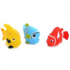 """Игрушки для ванной """"Играем вместе"""" 3 рыбки LXB174_173_175"""