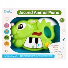 Пианино-Заяц на бат. свет+звук WD3640 в кор. B931901