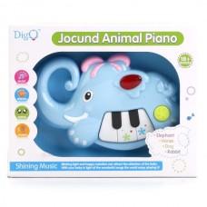 Пианино-Слон на бат. свет+звук WD3637 в кор. B931903