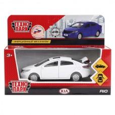 "Машина ""ТЕХНОПАРК"" метал. инерц. KIA RIO 12см, открыв. двери и багажник  в кор."