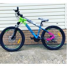 "Велосипед 24"" Crossbike Rainbow MD 1 ам. 21 ск."