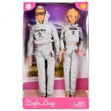 Набор из 2-х кукол (мальчик+девочка) в кор. 8360-DEFA