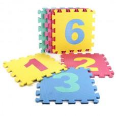 """Коврик-пазл """"Играем вместе"""" 10 дет. каждый 28*28 см пак. B25273NUM-CRT"""