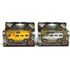 Машина мет. 1:43 Hummer H3, откр.двери,цвета в ассорт. 870131
