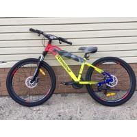 "Велосипед 26"" Crossbike Rainbow MD 1 ам. 21 ск."
