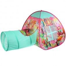 Палатка детская игровая КОРОЛЕВСКАЯ АКАДЕМИЯ с тоннелем, 87x95x95, 46x100см GFA-TONRA01-R