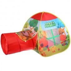 Палатка детская игровая МИМИМИШКИ с тоннелем, 87x95x95, 46x100см GFA-TONMIMI01-R