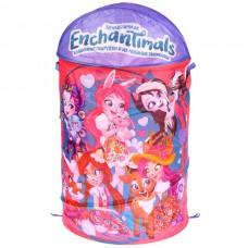 Корзина для игрушек Enchantimals 43*60см Играем вместе в пак. XDP-17921-R