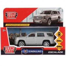 """Машина металл """"CADILLAC ESCALADE"""" 12см, открыв. двери, инерц, черный в кор. Технопарк ESCALADE-BK"""