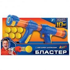 """Бластер """"Играем вместе"""" с мягкими шариками в кор. 1711G278-R"""