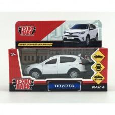 """Машина металл """"TOYOTA RAV4"""", длина 12см, открыв. двери, инерц., белый, в кор. RAV4-WH"""