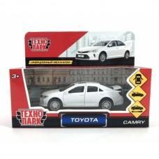 "Машина металл ""TOYOTA CAMRY"", длина 12см, открыв. двери, инерц., белый в кор. CAMRY-WH"