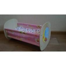 """Кровать для кукол деревянная """"Люлька"""""""