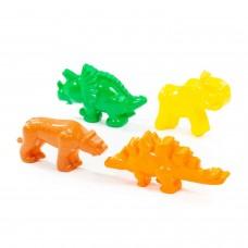Формочки (тигр+мамонт+динозавры) 36568