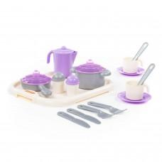 """Набор детской посуды """"Настенька"""" с подносом на 2 персоны 3940"""