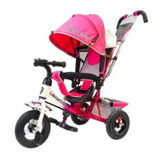 Велосипед 3-х колёсный Lexus Trike 950 N108 Pink 10/8 Air 629