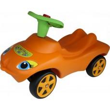 """Каталка """"Мой любимый автомобиль"""" оранжевая со звуковым сигналом 44600"""