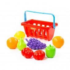 Набор продуктов с корзинкой №2 (9 элементов) (в сеточке) 46963