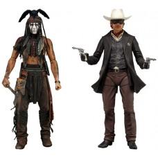 """Фигурка """"The Lone Ranger 7"""" Series 1 - Lone Ranger Deluxe /5шт 47527/47528"""