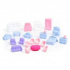 Набор мебели для кукол №5 (21 элемент) (в пакете) 49360