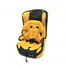 Автокресло Carmella 513RF гр. 1-2-3 yellow/black
