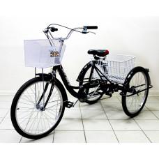 """Велосипед 24"""" Trike Bike 6 ск. грузовой 3-колёсный"""