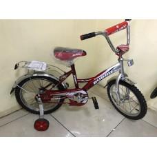 """Велосипед 18"""" Bubble (цвет.спицы, хром.крыло)"""