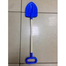 Лопата детская штыковая с деревянной ручкой 75см У542