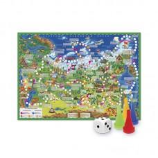 Игра-ходилка с фишками Путешествие по России 52852