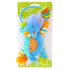 Развивающая игрушка Погремушка Бегемотик 93816
