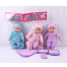 Кукла мягконабивная озвуч. с аксес-ми 1206P-13
