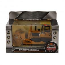Трактор с катком гусеничный мет.ин. 1:48,свет, звук, откр.двери 870159