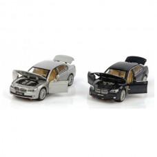 Машина мет. 1:34 BMW 760,свет,звук,откр.двери,капот,багажник,цвета в ассорт 870120