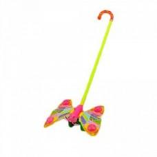 Каталка бабочка-погремушка 865-20